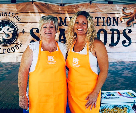 The Kombination Seafoods team.